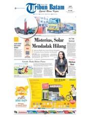 Cover Tribun Batam 23 Maret 2019