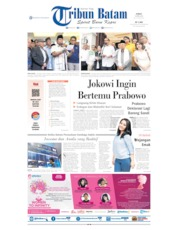 Tribun Batam Cover 19 April 2019