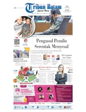 Tribun Batam Cover 24 April 2019