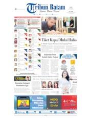 Tribun Batam Cover 15 May 2019