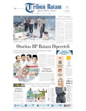 Tribun Batam Cover 18 May 2019