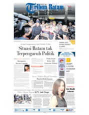 Tribun Batam Cover 19 May 2019
