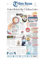 Tribun Batam Cover 20 May 2019