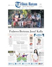 Cover Tribun Batam 25 Mei 2019