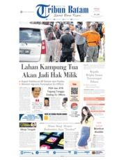 Tribun Batam Cover 26 May 2019