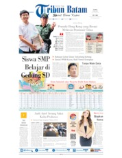 Cover Tribun Batam 20 Juni 2019