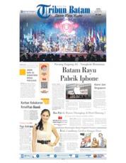 Tribun Batam Cover 24 June 2019