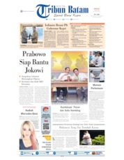 Tribun Batam Cover 14 July 2019