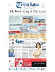 Tribun Batam Cover 15 July 2019