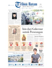 Tribun Batam Cover 17 July 2019