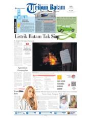 Tribun Batam Cover 18 July 2019