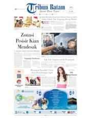 Tribun Batam Cover 19 July 2019