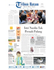 Cover Tribun Batam 23 Juli 2019