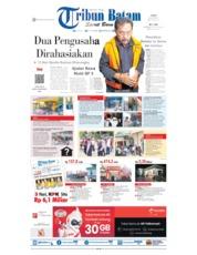 Tribun Batam Cover 24 July 2019