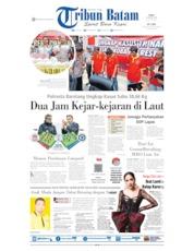Tribun Batam Cover 14 August 2019