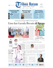 Tribun Batam Cover 15 August 2019