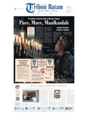 Cover Tribun Batam 20 Agustus 2019
