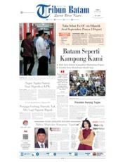 Cover Tribun Batam 21 Agustus 2019