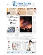 Cover Tribun Batam 22 Agustus 2019