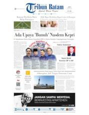 Cover Tribun Batam 23 Agustus 2019