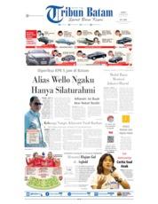 Cover Tribun Batam 24 Agustus 2019