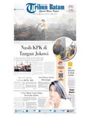 Tribun Batam Cover 08 September 2019