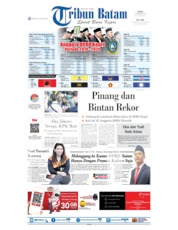 Tribun Batam Cover 09 September 2019