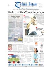 Cover Tribun Batam 17 September 2019