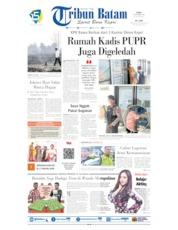 Tribun Batam Cover 18 September 2019