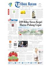 Tribun Batam Cover 19 September 2019
