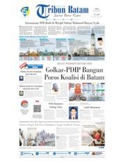 Tribun Batam Cover 20 September 2019
