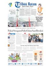 Tribun Batam Cover 21 September 2019