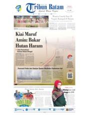 Tribun Batam Cover 22 September 2019
