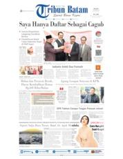 Cover Tribun Batam 08 Oktober 2019
