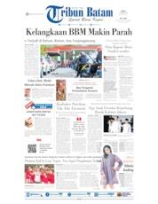 Cover Tribun Batam 09 Oktober 2019