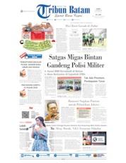 Cover Tribun Batam 11 Oktober 2019