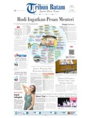 Cover Tribun Batam 16 Oktober 2019