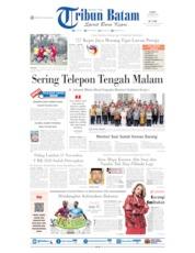 Cover Tribun Batam 19 Oktober 2019