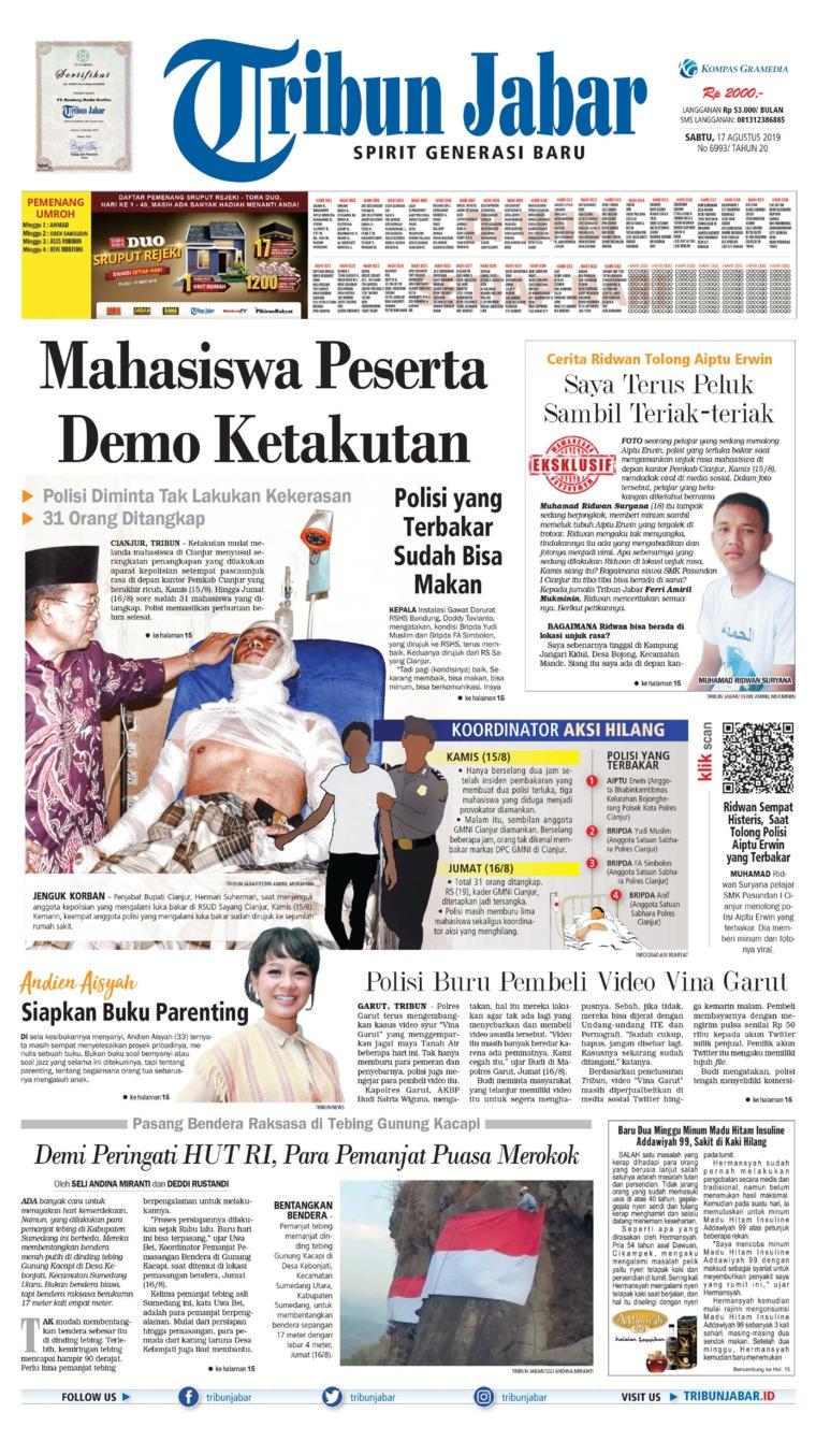 Koran Digital Tribun Jabar 17 Agustus 2019