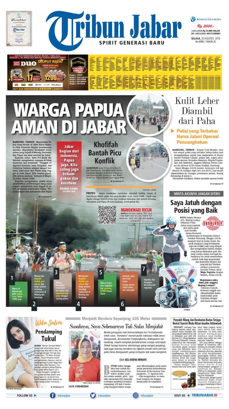 Koran Digital Tribun Jabar 20 Agustus 2019