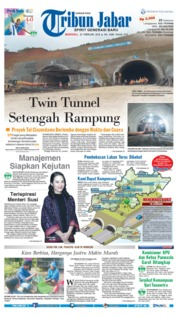 Cover Tribun Jabar 25 Februari 2018