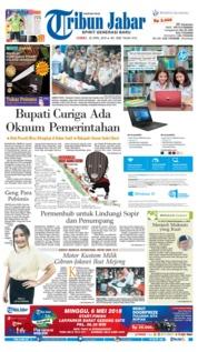 Cover Tribun Jabar 20 April 2018