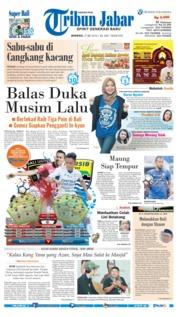 Cover Tribun Jabar 27 Mei 2018
