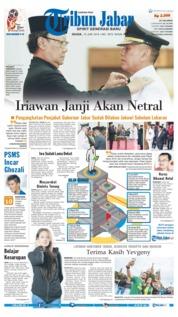 Cover Tribun Jabar 19 Juni 2018