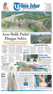 Cover Tribun Jabar 20 Juni 2018