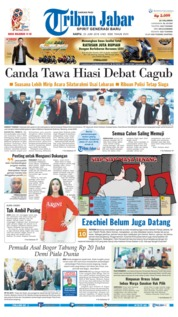 Cover Tribun Jabar 23 Juni 2018