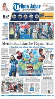 Cover Tribun Jabar 16 Juli 2018