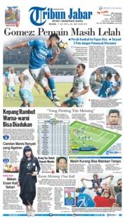 Cover Tribun Jabar 17 Juli 2018