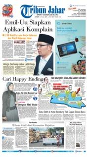 Cover Tribun Jabar 20 Juli 2018