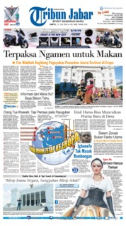 Cover Tribun Jabar 21 Juli 2018